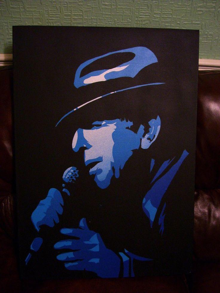 Leonard Cohen Stencil, 2 Layers by Zombie-Pacman.deviantart.com on @DeviantArt
