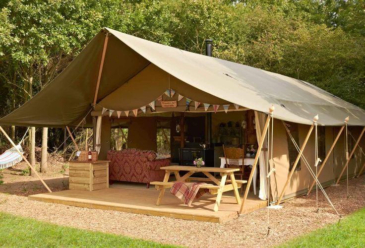 Glamping UK - luxury camping holidays in Suffolk