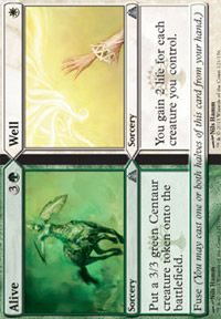 Alive // Well from Dragon's Maze at TCGplayer.com as low as $0.03