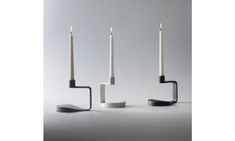 "Pia Tornell, ""Night Light"" candlesticks for Design House Stockholm."