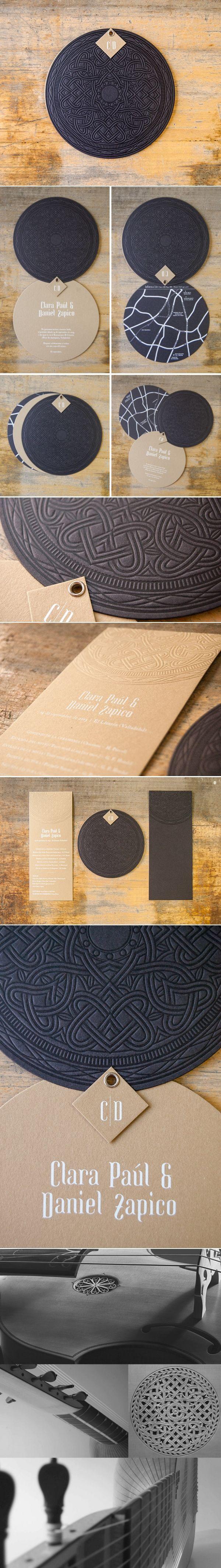 Clara Paul & Daniel Zapico | Printer/Designer: El Calotipo #printdesign #collateral #identity                                                                                                                                                     Mehr