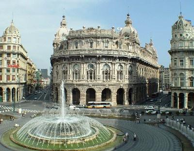 Piazza De Ferrari Genoa, Italy