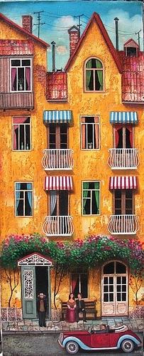 David Martiashvili. Old houses this just makes me feel good inside