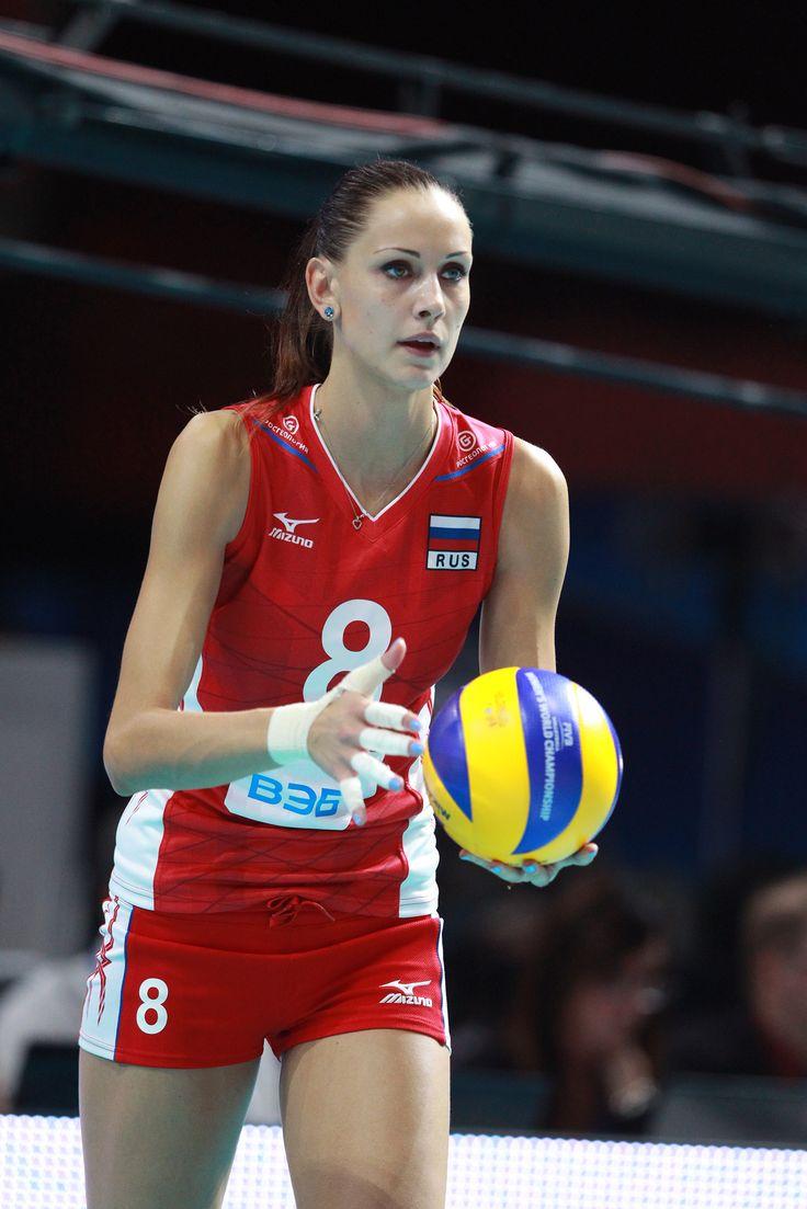 Nataliya Obmochaeva Nataliya ObmoChaeva in battuta Sports Volleyball