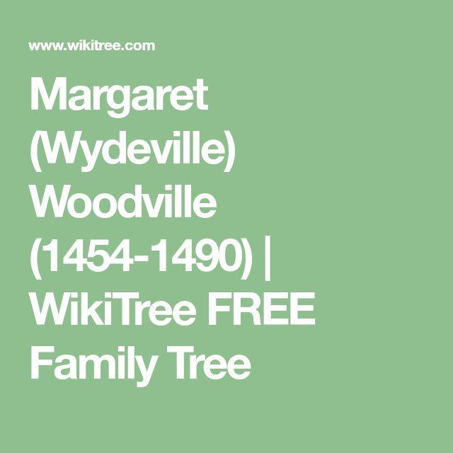 Margaret (Wydeville) Woodville (1454-1490) | WikiTree FREE Family Tree
