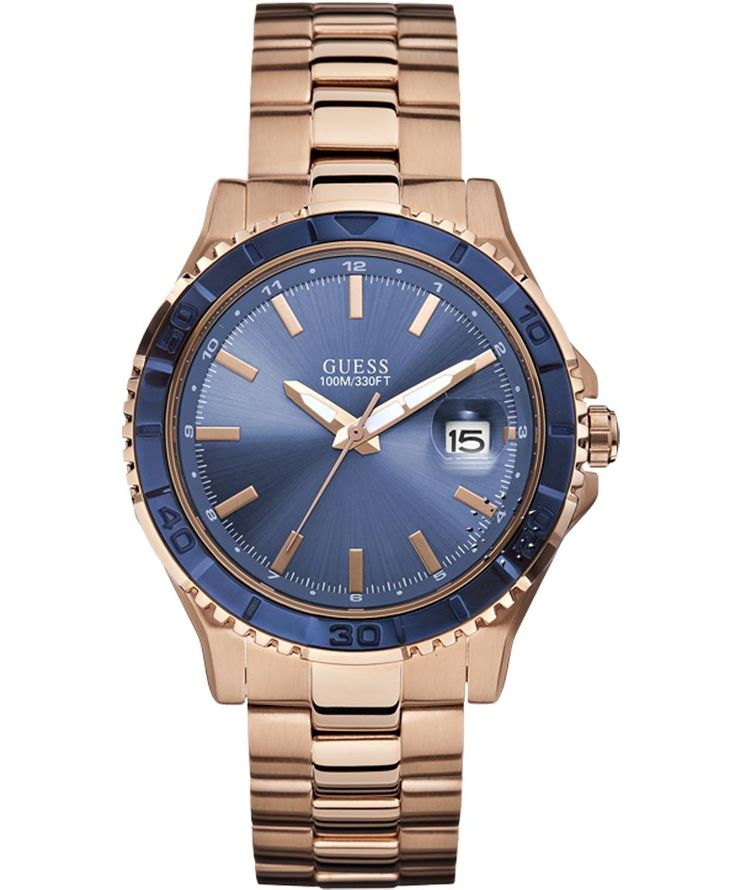 GUESS Gents Rose Gold Stainless Steel Bracelet Μοντέλο: W0244G3 Η τιμή μας: 202€ http://www.oroloi.gr/product_info.php?products_id=37523