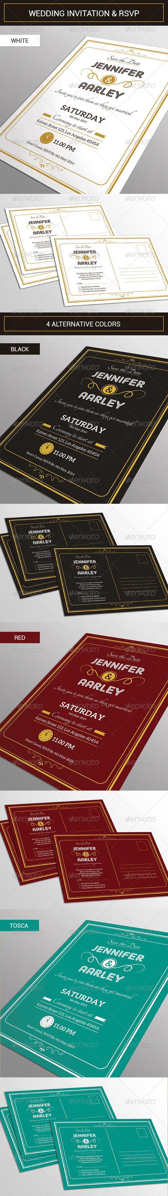 141 best Wedding Template images on Pinterest | Font logo, Photoshop ...