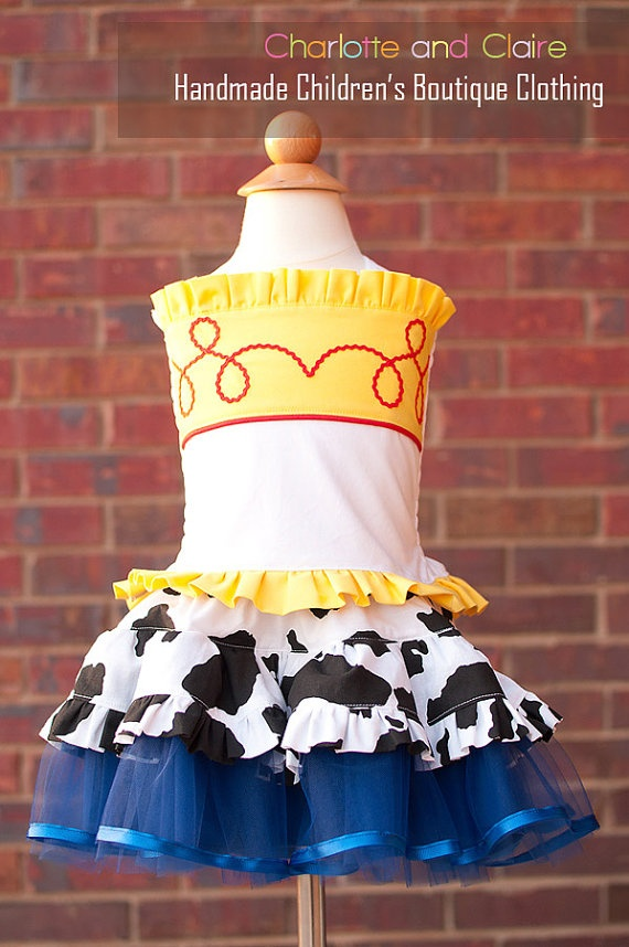Jessie costumeToy Story inspired Custom Made by charlotteandclaire, $75.00