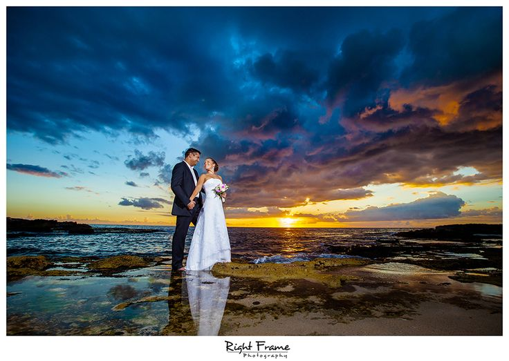 Beach Wedding Ceremony Oahu: 20 Best Oahu Sunset Beach Weddings Images On Pinterest