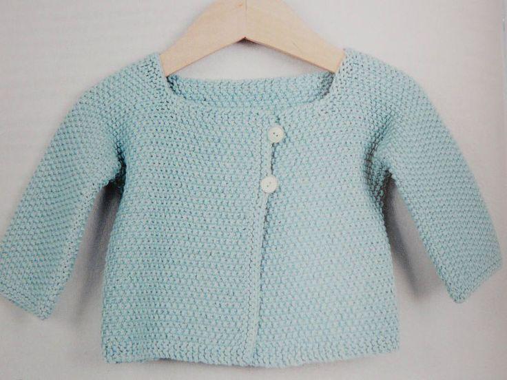 patron tricot gratuit gilet bebe
