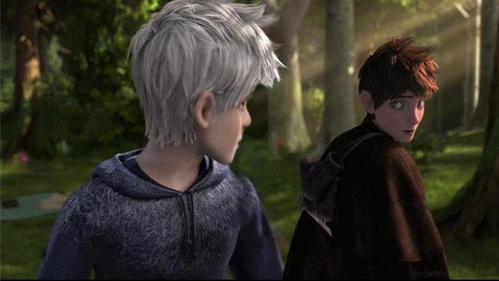 Jackson Overland and Jack Frost. Oh this hurts me. It's like he's looking back at what he used to be, and his past self is looking at what he will become.