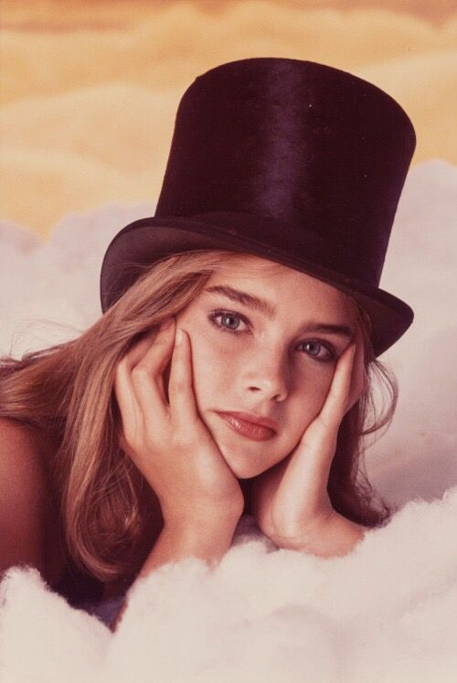 Brooke Shields (Top Hat), 1978. Photograph by Gary Gross.
