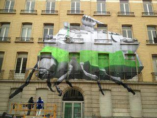 LEZARTS URBAINS - STREET ART: LUDO - Lille 27 mars 2013