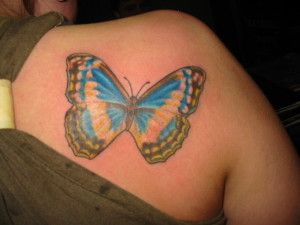Shoulders Tattoos for Girl