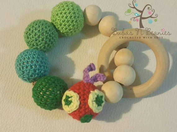 Check out this item in my Etsy shop https://www.etsy.com/au/listing/493421111/hungry-caterpillar-teething-beads