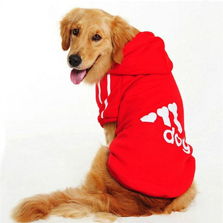Big Dog Clothes For Dogs Costume Large Size Winter Golden Retriever Pet Dogs Coat Hoodie Apparel Clothing For Dogs Sportswear