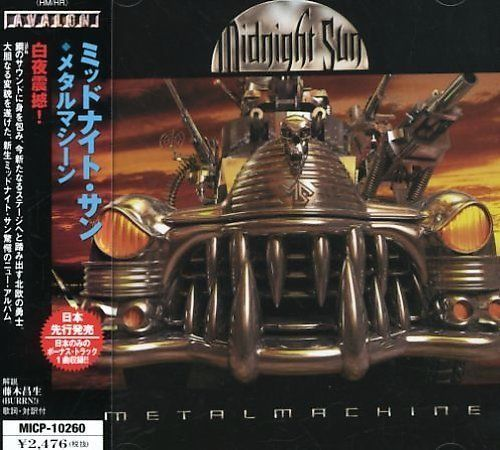 Metal Machine by Midnight Sun PROMO SAMPLE (Japan CD, Sep-2001, Avalon)