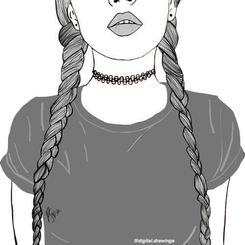 Resultado de imagen de teenage drawing tumblr