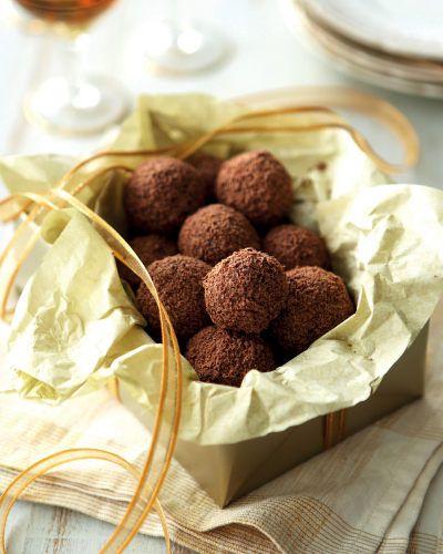 Amaretto & Walnut Truffles