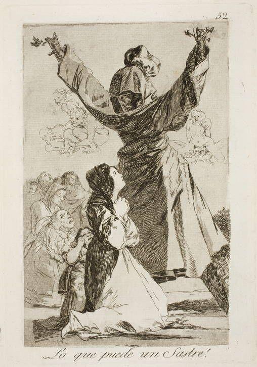 Goya en El Prado: Lo que puede un Sastre!