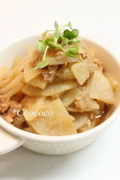 冷凍大根のツナ煮 レシピ by chococoさん | レシピブログ - 料理ブログ ...