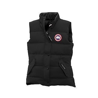 canada goose vest = perfect for winter