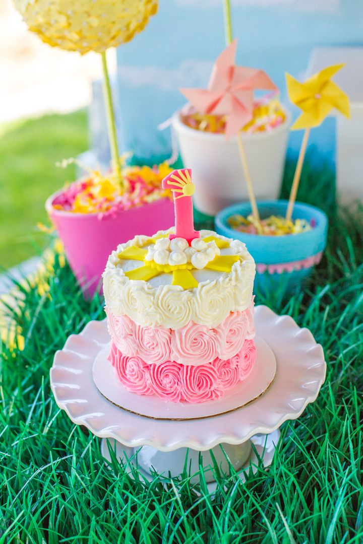 You Are My Sunshine Birthday Cake - So cute!!