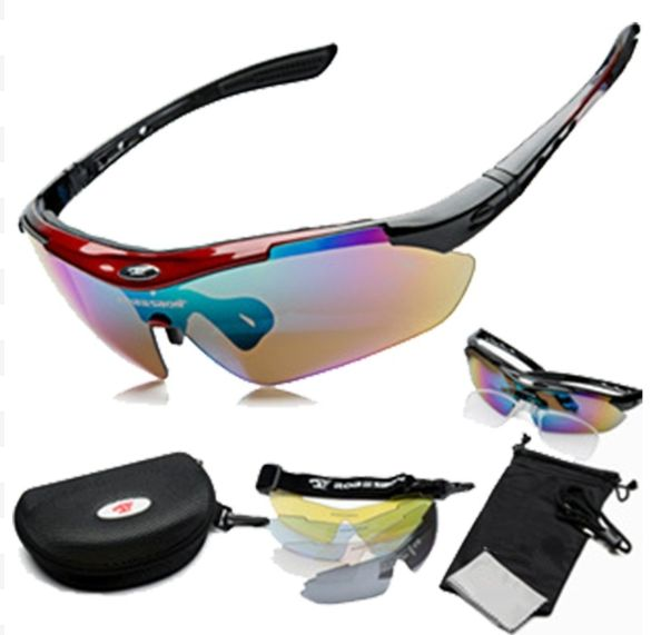 Sports Cycling Sunglasses Men Women MTB Bike Glasses Eyewear 5 Lenses //Price: $19.06 & FREE Shipping //   #rxsunglasses #sunglassrx #rxsunglassesarethebest
