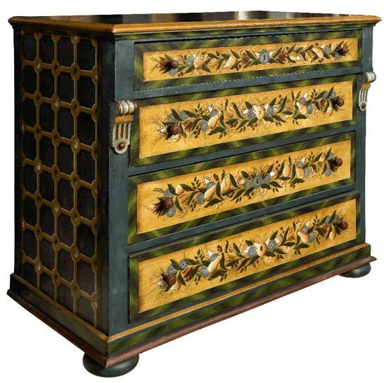 Jean-Pierre Besenval ~ painted chest