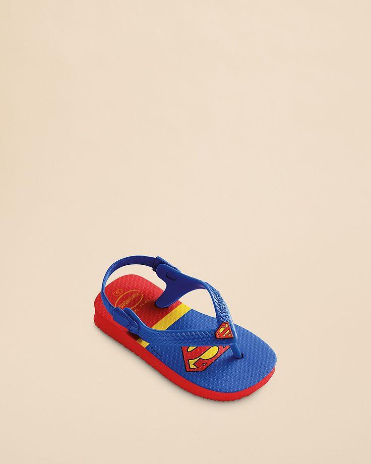 havaianas Boys' Baby Heroes Superman Flip Flops     Bloomingdale's
