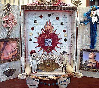 how to make a personal shrine