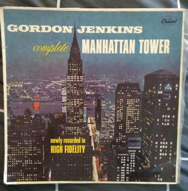 Gordon Jenkins Complete Manhattan Tower Vinyl LP in Music, Records | eBay!