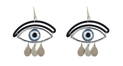 Earrings Eyes by Cheap Monday. Earrings multicolor eye of brand Cheap Monday help you create a dramatic and unforgettable in their first meeting by your own personality - Alloy Material - Pictures eyes - wearing accomplice Designs teng - Lock installed. http://www.zocko.com/z/JJxsJ