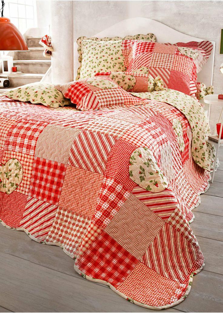 Pi di 25 fantastiche idee su copriletto rosso su pinterest copriletto rosa comforter rosso e - Copriletto matrimoniale rosso ...