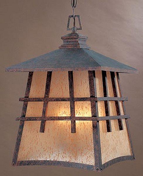 "0-002223>12""w Oak Park Outdoor Hanging Lantern Mediterranean Patina"