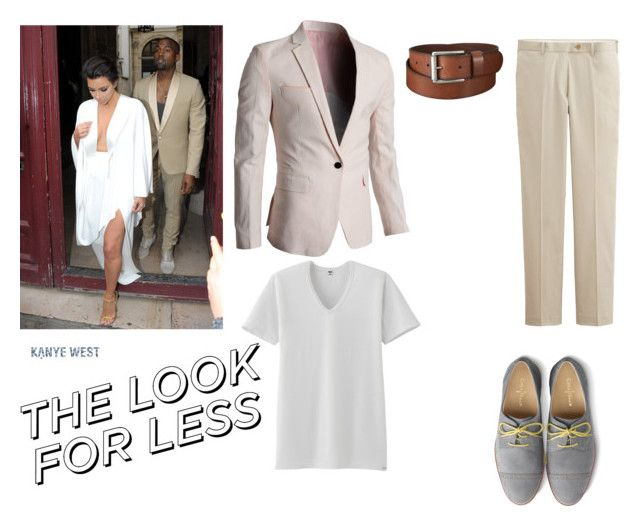 #kanyewest #look for less by andreka11 on Polyvore featuring polyvore fashion style Cole Haan Uniqlo clothing