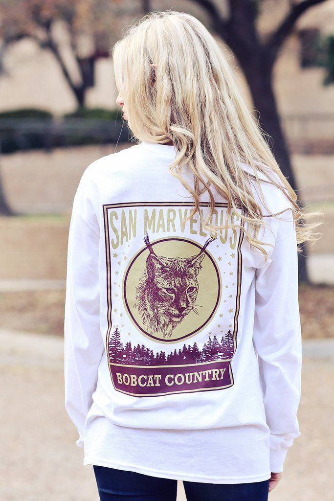 Texas State, San Marcos, San Marvelous bobcat country