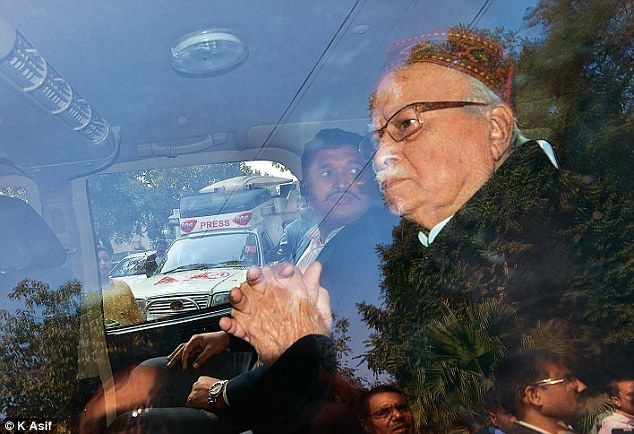 BJP veteran LK Advani leaves after a meeting with senior party members at Murli Manohar Joshi's residence.Refusing to relent a day after his suspension, MP Kirti Azad asked Prime Minister Narendra Modi to intervene in the matter and said he would seek a court-monitored probe into the affairs of Delhi's cricket body, DDCA.  - See more at: http://the-best-of-media.blogspot.in/2015/12/suspended-mp-kirti-azad-banks-on-modi.html#more
