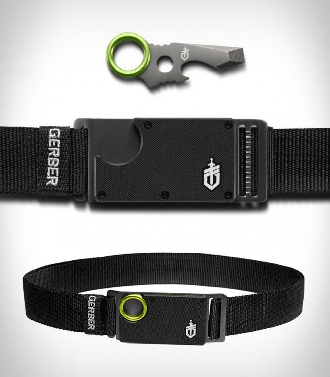 Batman is not the only one with a cool utility belt. Now, you too can have multi-function utility belt that is every bit as cool as Batman's with the Gerber GDC Belt Tool.