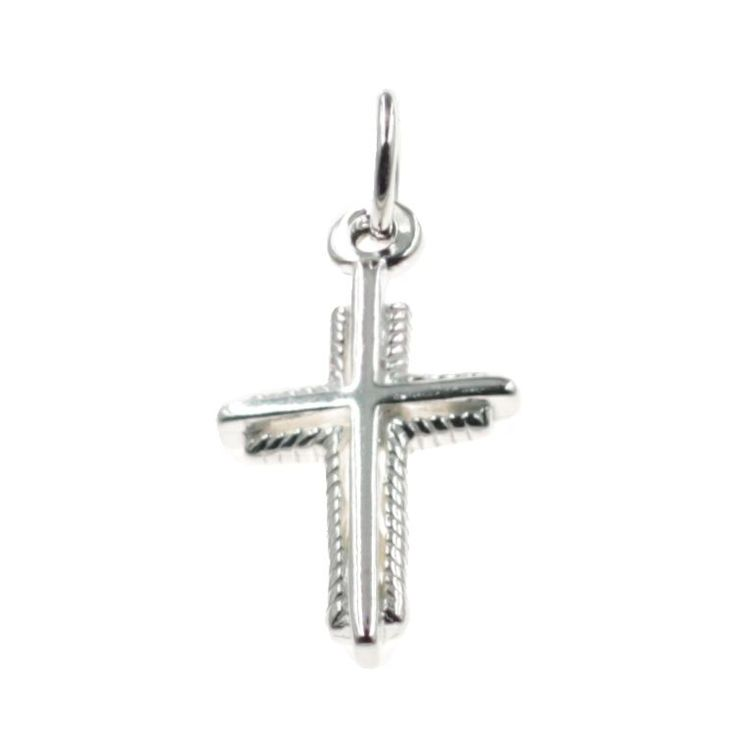 Buy our Australian made Cross Charm - chr-1226 online. Explore our range of custom made chain jewellery, rings, pendants, earrings and charms.