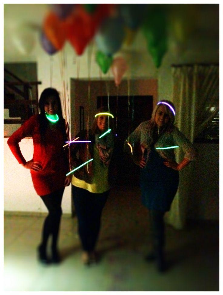 glow stick ladies
