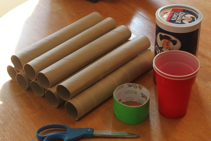 Make Your Own Cardboard Tube Marble Run