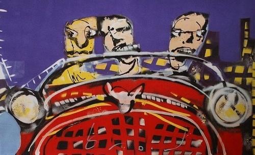 Herman Brood, American Dream  63 x 90