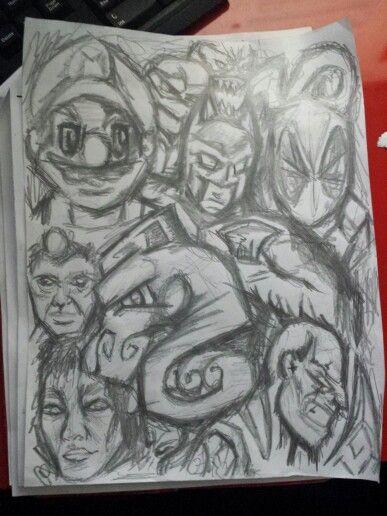 A quick drawing i did at the jinob