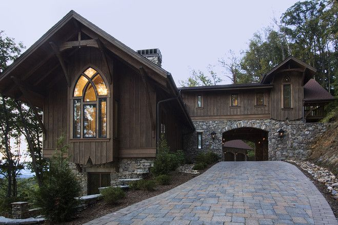1000 images about architecture porte cochere on for Asheville mountain homes