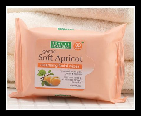 Soft Apricot Cleansing Facial Wipes