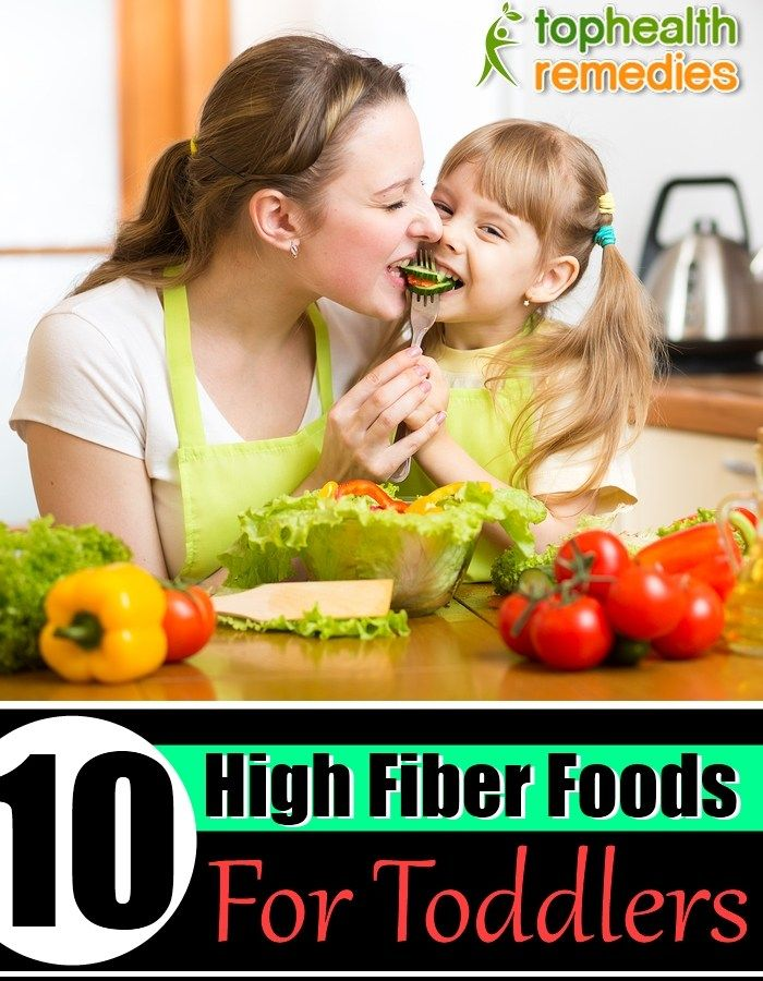 10 High Fiber Foods For Toddlers