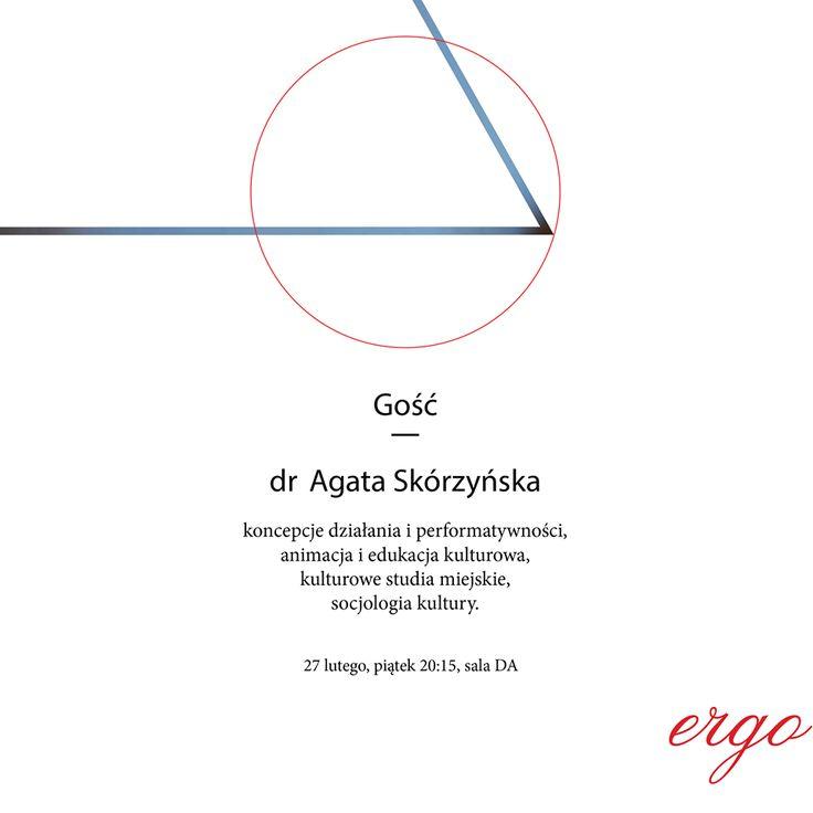 Identyfikacja spotkań grupy Ergo dla Duszpasterstwa Akademickiego (Poznań, 2014/15). Projekt: Elżbieta Kowalska.