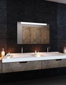 Lustro łazienkowe Lumen LED z oświetleniem LED