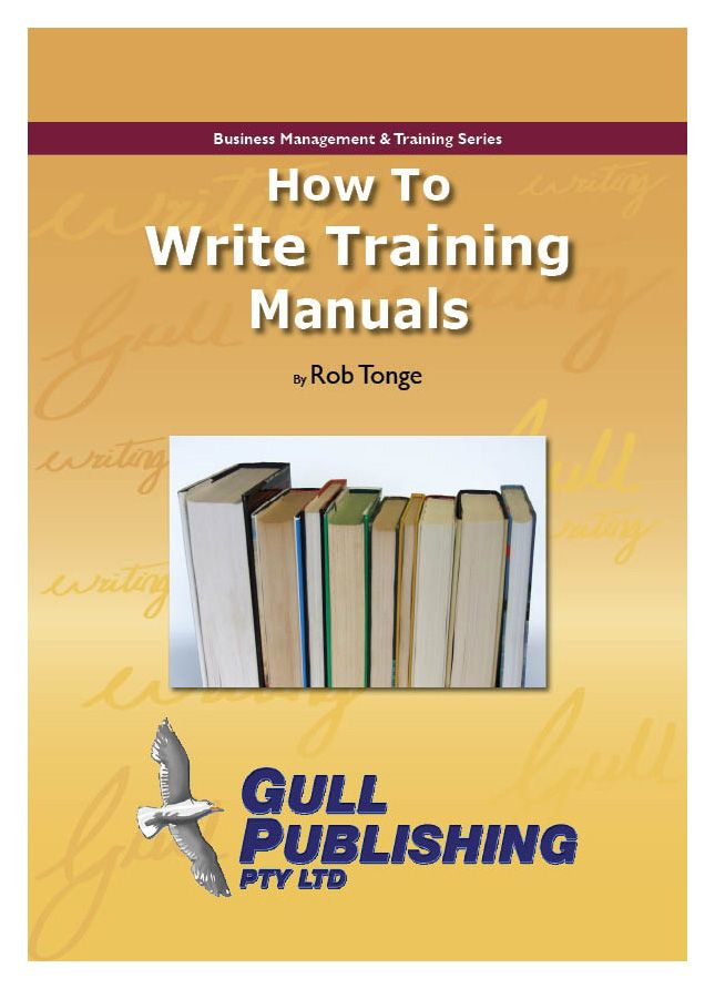 How To Write Good Training Manuals - Performance professional